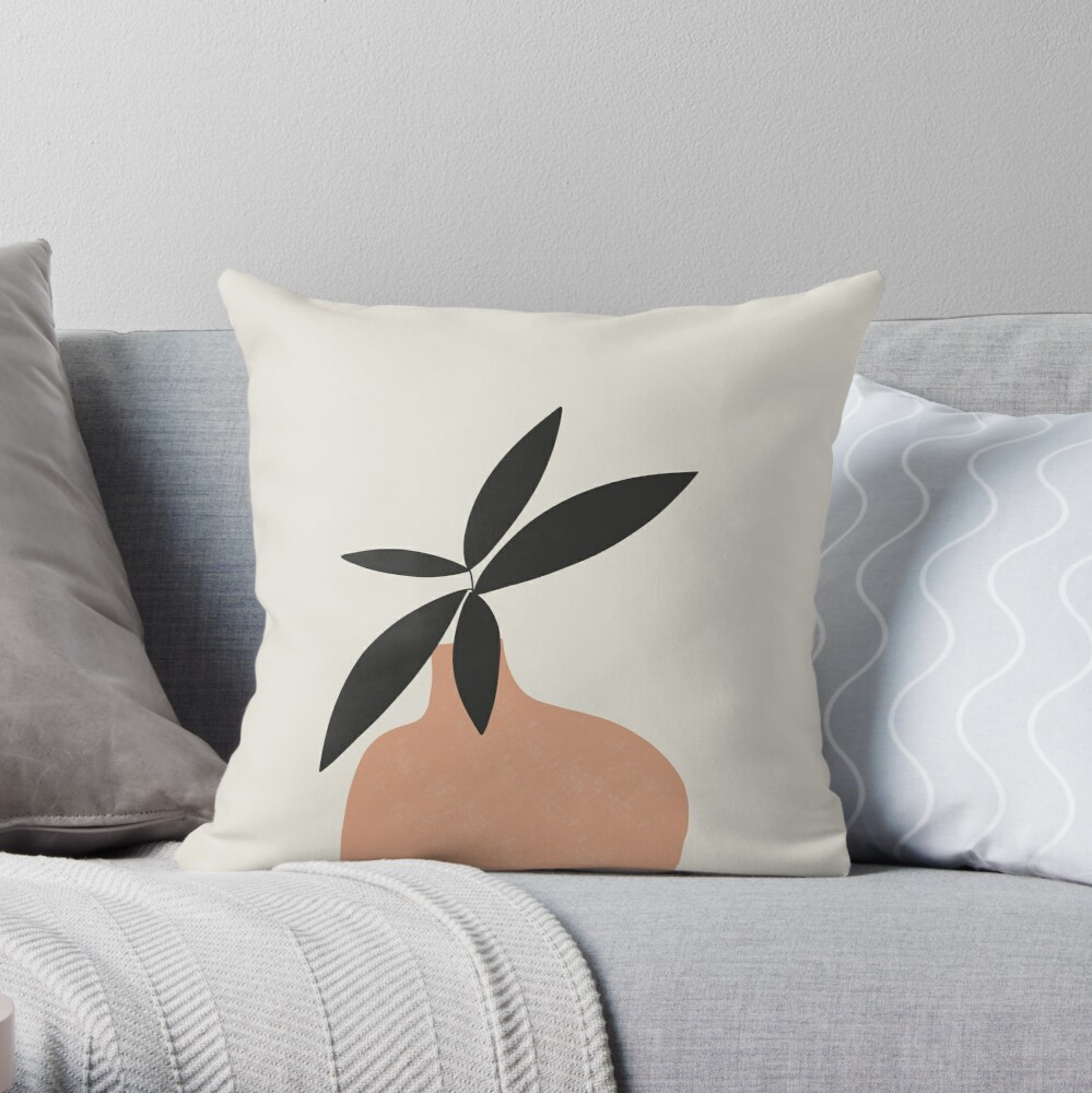 Plant lovers dream Throw Pillow