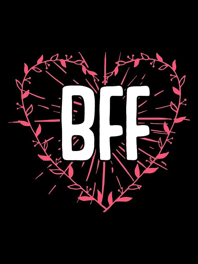BFF Best Friends Forever Besties Goals Gift Idea von haselshirt