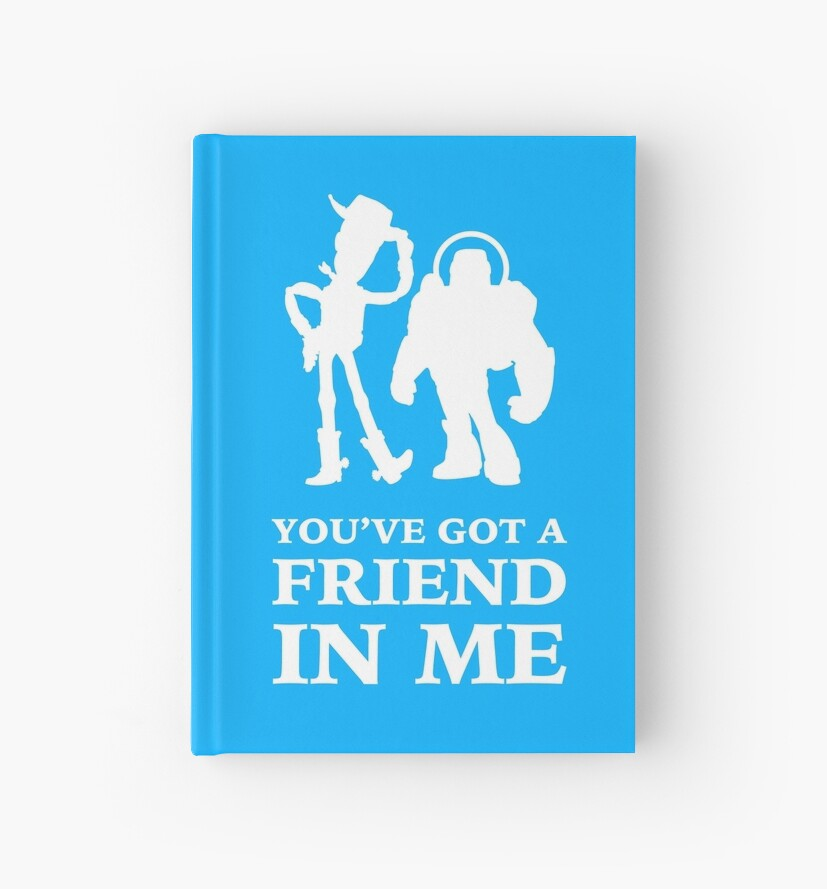 Toy Story Woody and Buzz Lightyear You've Got A Friend In Me by ...