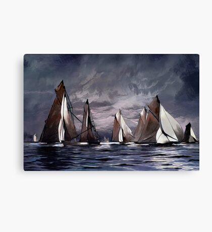 Sea Symphony....... Canvas Print