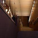 Tunnel stairs by Lukasz Godlewski