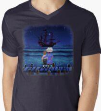 Guybrush & Stan (Monkey Island) Men's V-Neck T-Shirt
