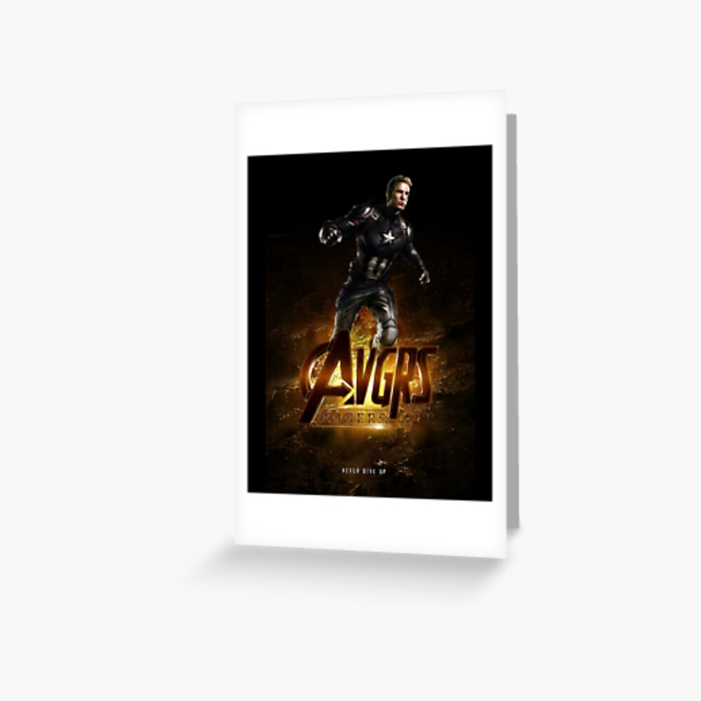 Rogers The Movie Greeting Card