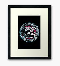 Dragon Racing Framed Print