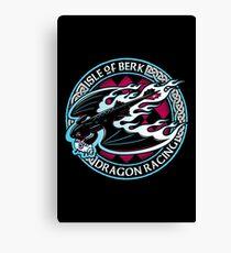 Dragon Racing Canvas Print