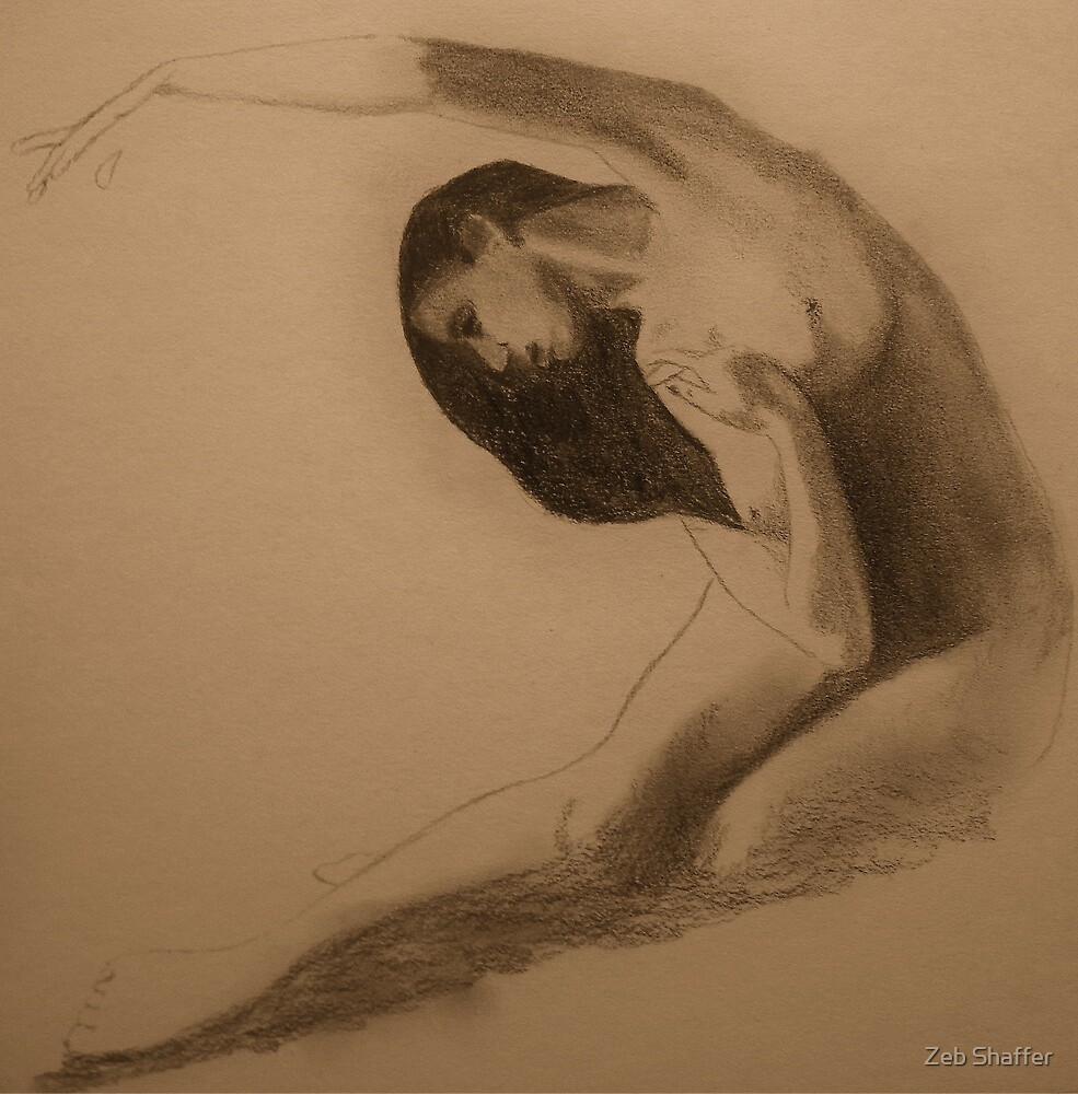 Figure study by Zeb Shaffer
