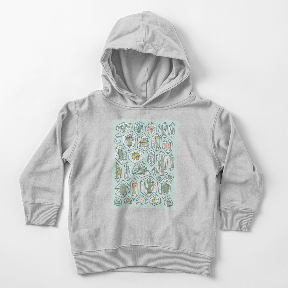 Crystals and Plants Toddler Pullover Hoodie