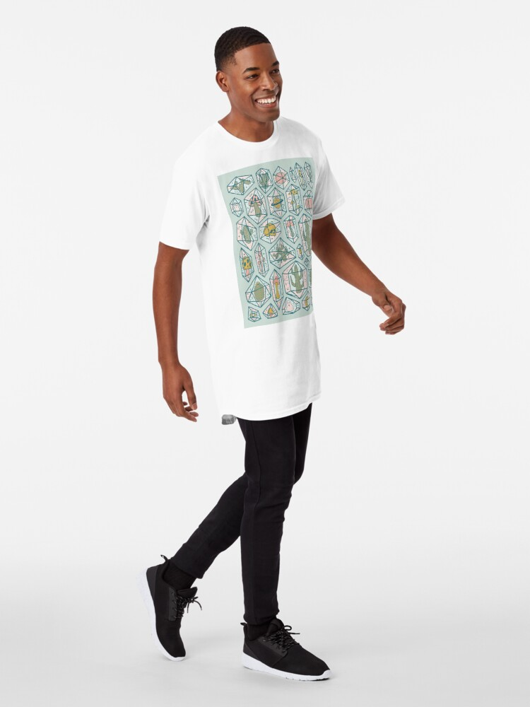Alternate view of Crystals and Plants Long T-Shirt