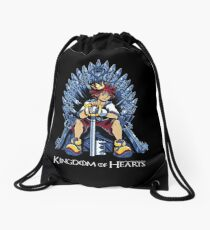 Kingdom of Hearts Drawstring Bag