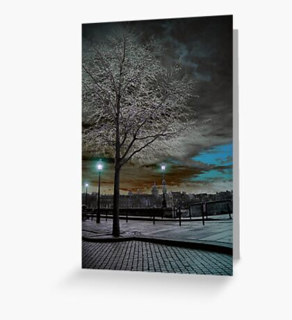 Solarisation Greeting Card