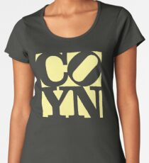 Nix Love (Yellow) Premium Scoop T-Shirt