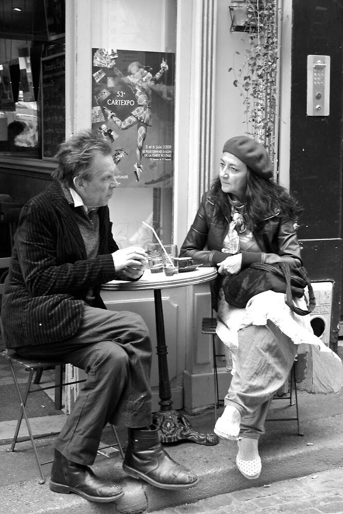 Le Conversation by Virginia Kelser Jones