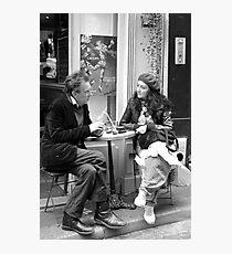 Le Conversation Photographic Print