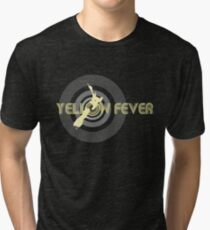 Fever Over Welly (Yellow) Tri-blend T-Shirt