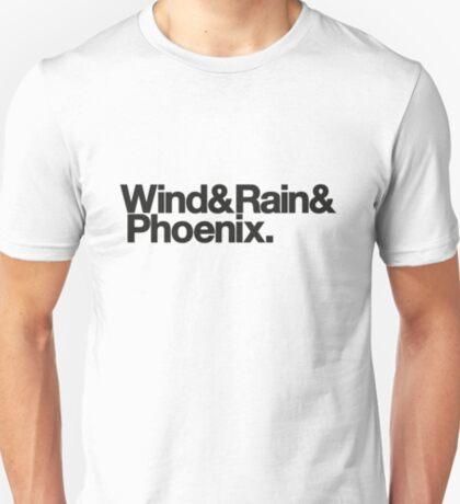 Wind & Rain & Phoenix (Black) T-Shirt