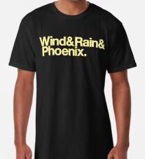 Wind & Rain & Phoenix (Yellow) Long T-Shirt