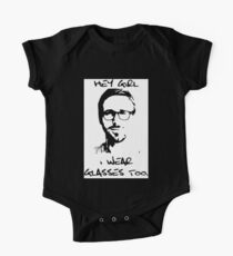 Hey Girl, I Wear Glasses Too. One Piece - Short Sleeve