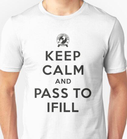 Keep Calm, Pass to Ifill (Black) T-Shirt