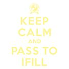 Keep Calm, Pass to Ifill (Yellow) by YellowFeverNZ
