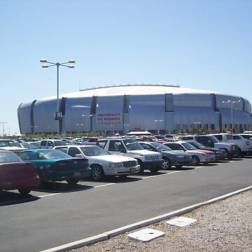 Beautiful University of Phoenix Stadium by gesau