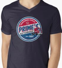 Prime's Autoshop Men's V-Neck T-Shirt