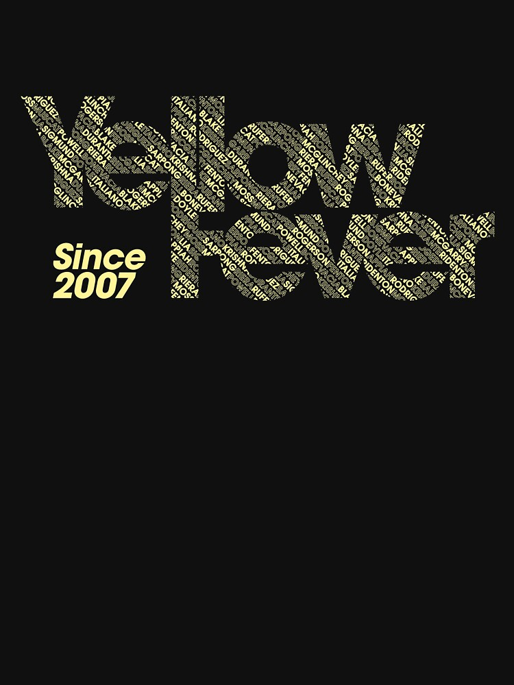 Squad Goals '15 (Yellow) by YellowFeverNZ