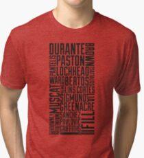 Squad Goals '11 (Black) Tri-blend T-Shirt