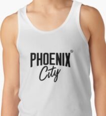 Phoenix City (Black) Tank Top