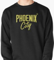 Phoenix City (Yellow) Pullover Sweatshirt
