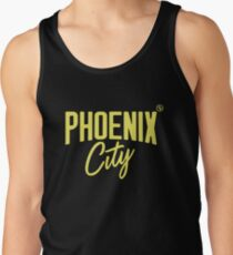 Phoenix City (Yellow) Tank Top