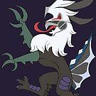 Heraldry Silvally Dark Type by LupusEpulari