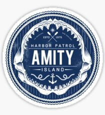 Amity Island Harbor Patrol Sticker
