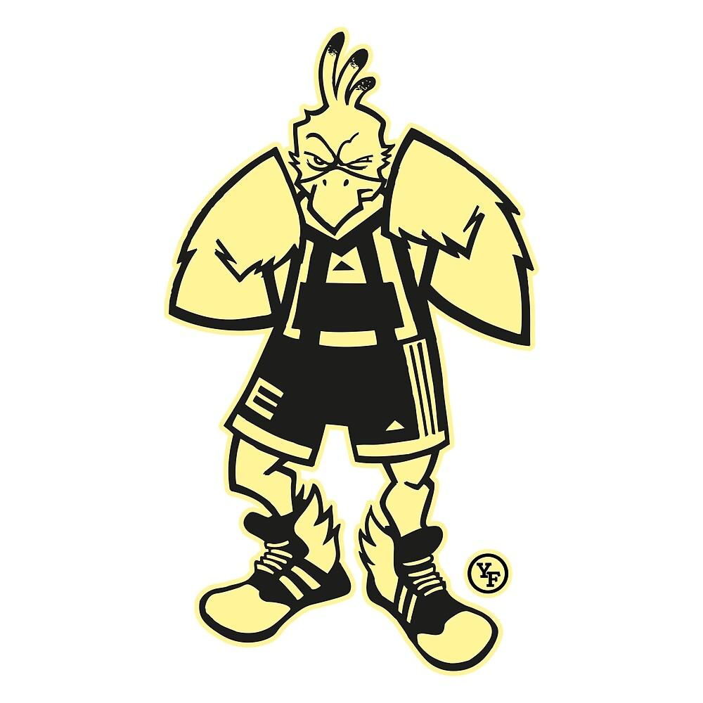 Ernie, The Fighting Chicken by YellowFeverNZ