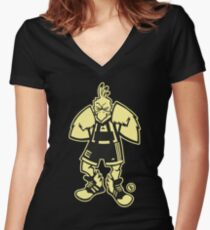 Ernie, The Fighting Chicken Fitted V-Neck T-Shirt