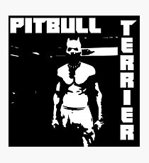 Zef Pittbull Photographic Print