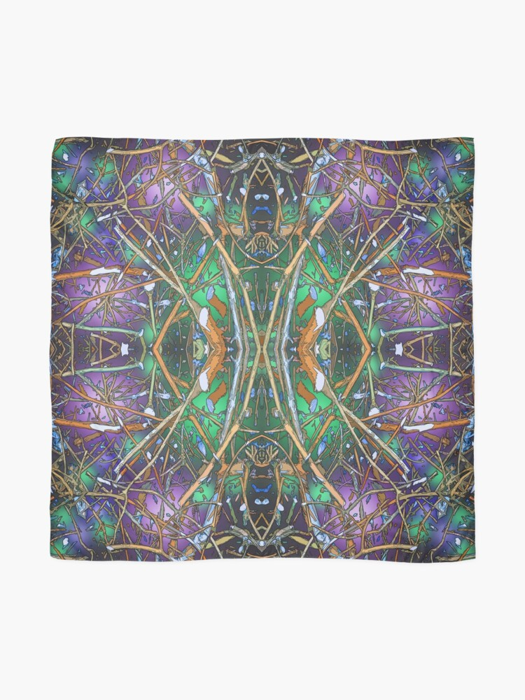 Alternate view of TWIGS THEORY ABSTRACT 3 Scarf