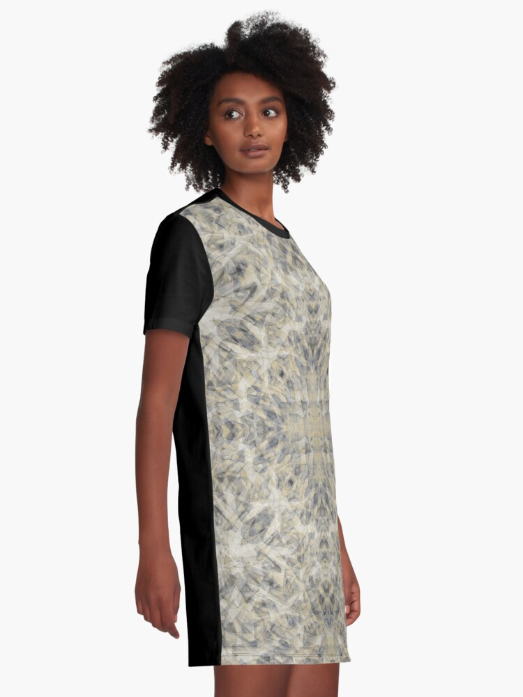 Alternate view of MONTANA ELK ANTLERS AFTER MATING SEASON 4 Graphic T-Shirt Dress