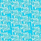 TransLivesMatter (Blue) by Lindsey Gill