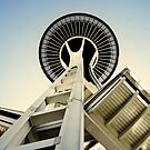 Space Needle - Seattle, Washington by Lindsey Butler