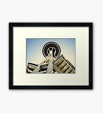 Space Needle - Seattle, Washington Framed Print