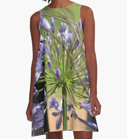 Agapanthus beauty A-Line Dress