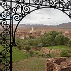 View to a Moroccan Village by Marylou Badeaux