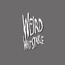 Weird Whitstable white logo by Quinton Winter