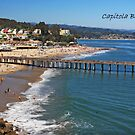 ~ Capitola Beach ~ by WesternDreamer