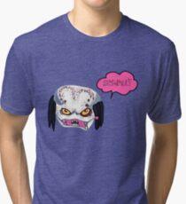 Predator Movie - Kawaii Sempai Predator Tri-blend T-Shirt