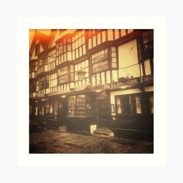 The Llandoger Trow, Bristol Art Print