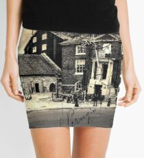 Vintage Style Postcard Poole Customs House Mini Skirt