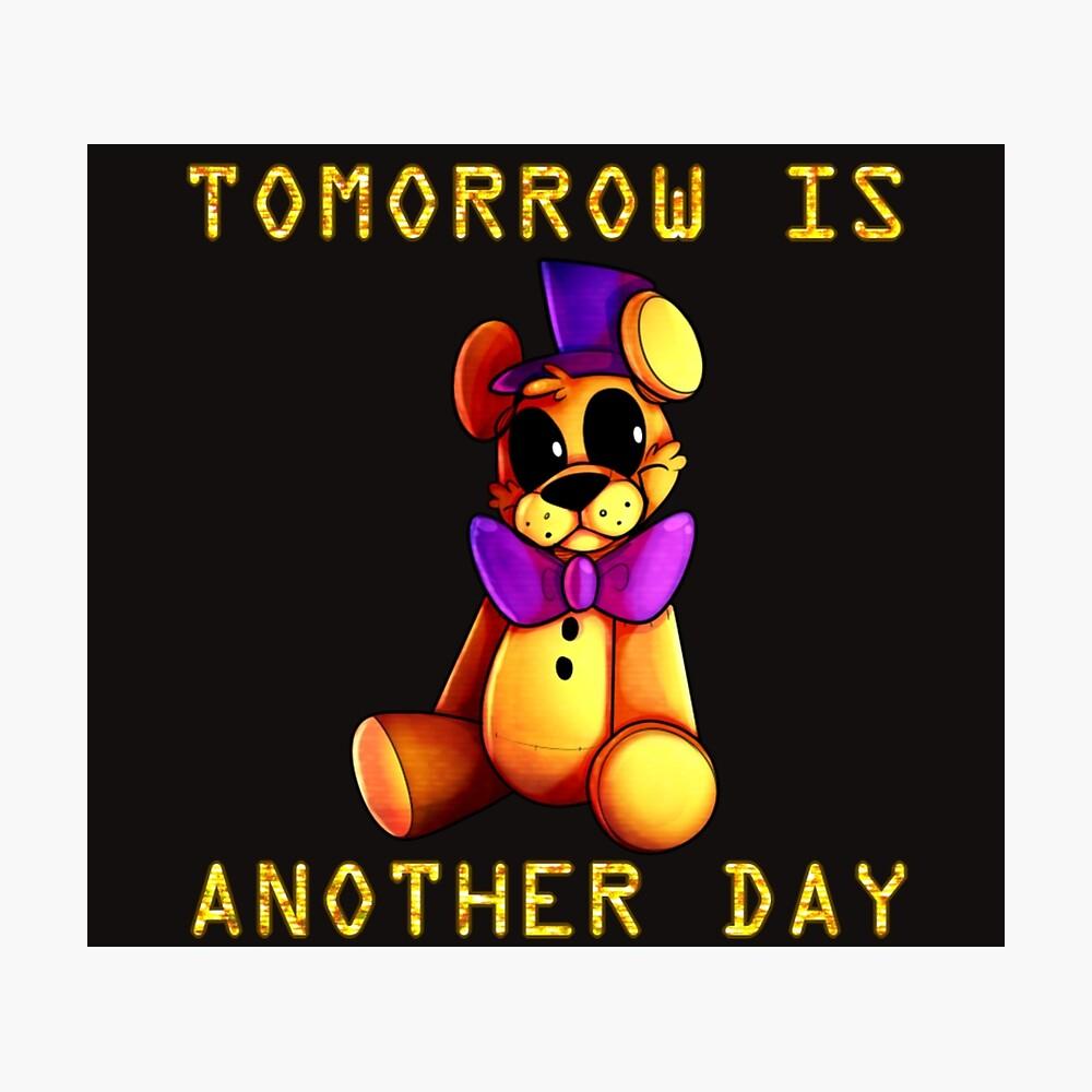 Morgen ist ein neuer Tag Fotodruck