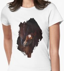 Russet Affection Womens Fitted T-Shirt