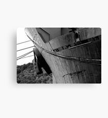 Detail of a bulk carrier Canvas Print